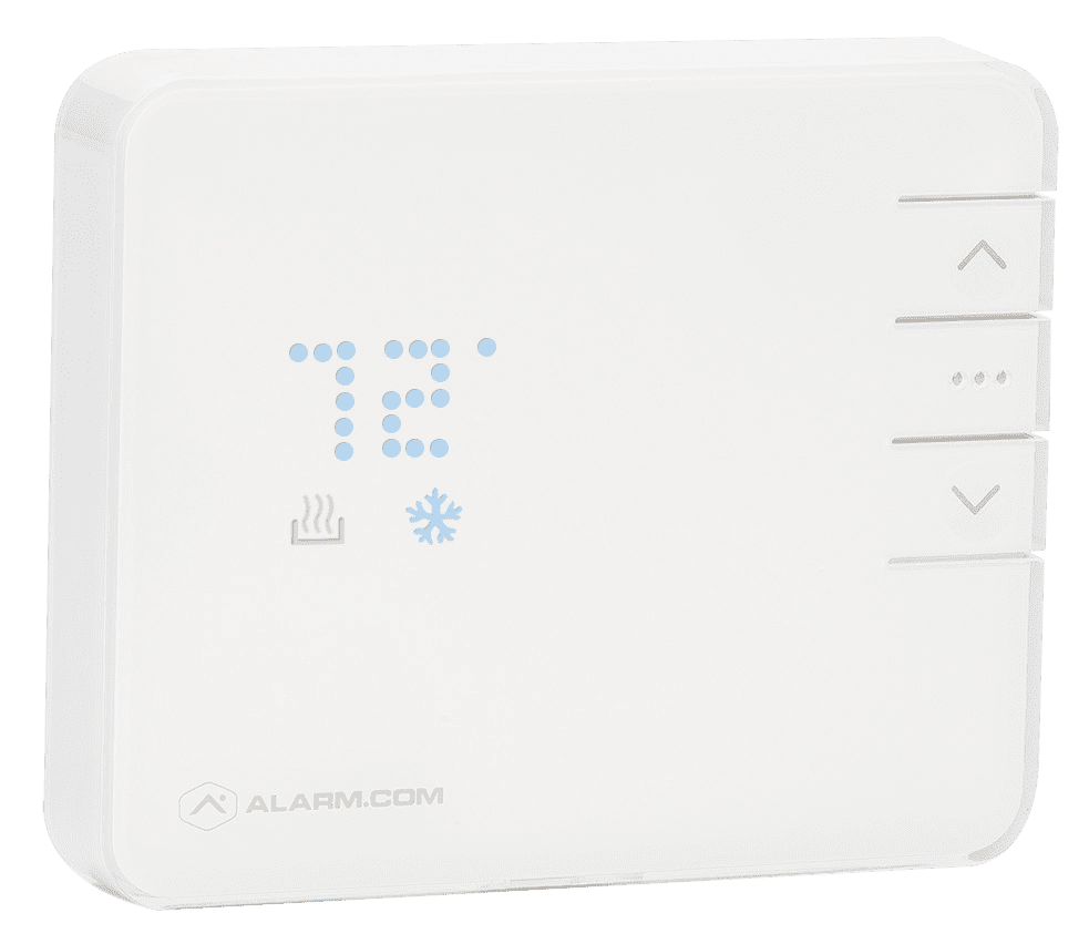 smart thermostat from Alarm.com
