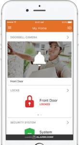 smart video door and lock monitor