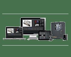 Kantech technology on screens